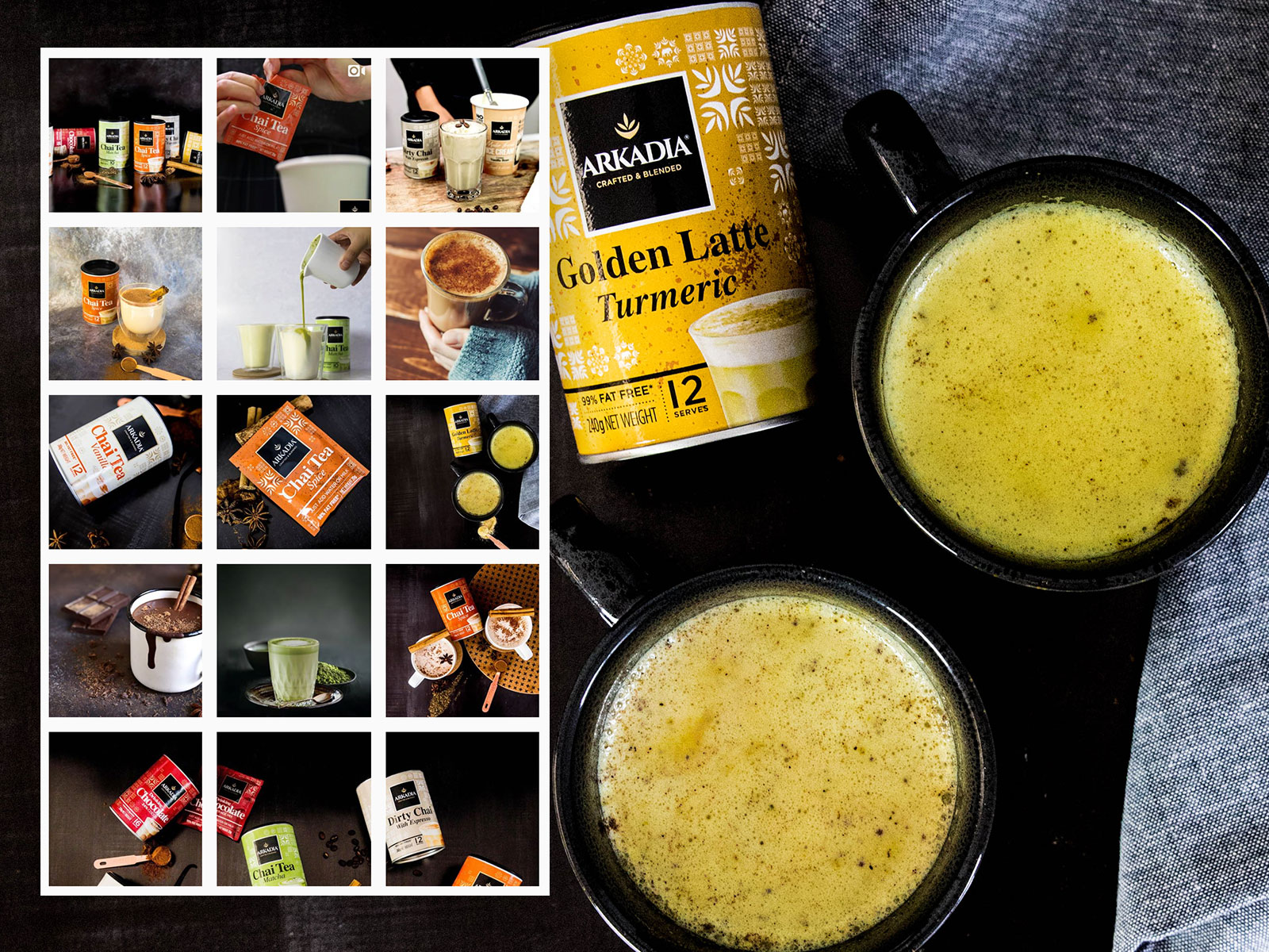 SOCIAL MEDIA & CONTENT: Arkadia Beverages