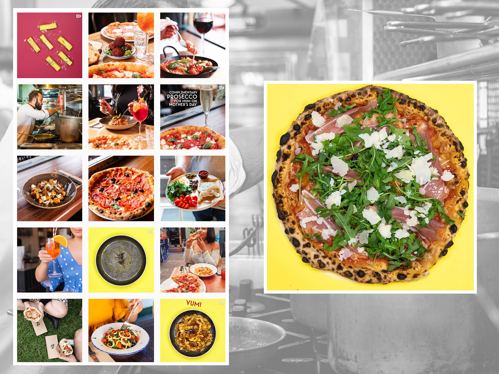 SOCIAL MEDIA MANAGEMENT: Pizza Farro