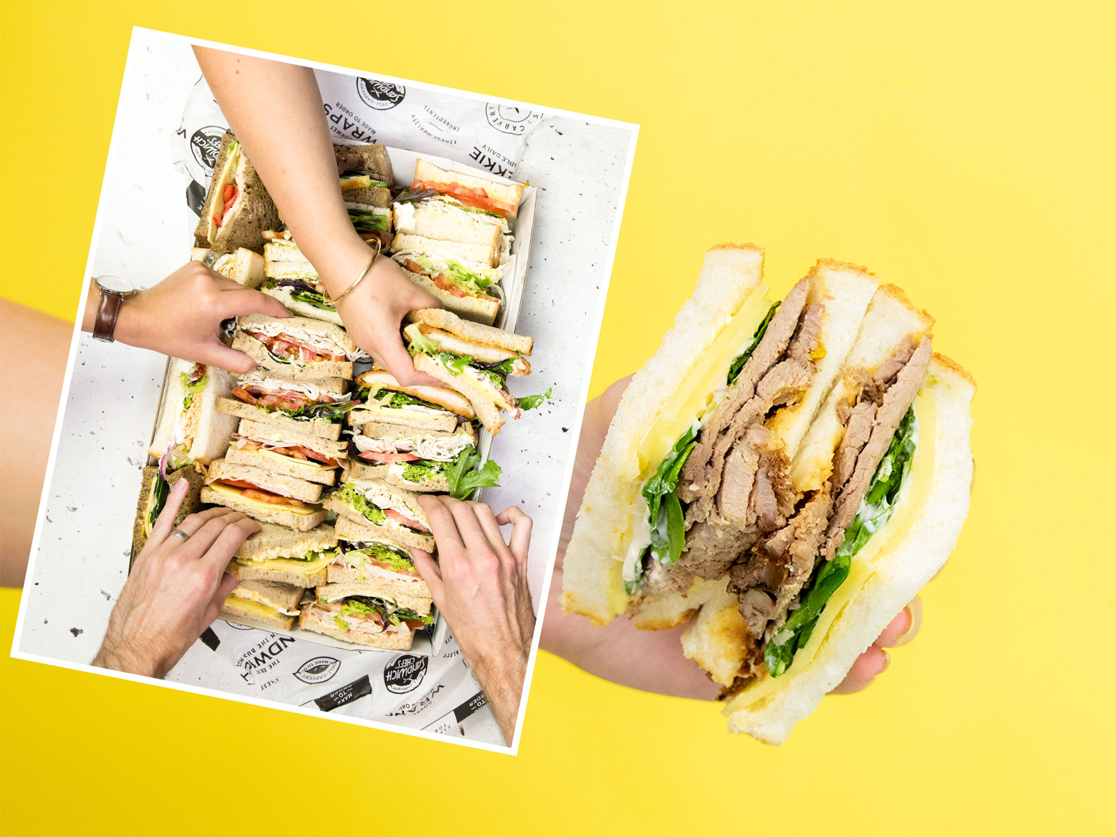 SOCIAL MEDIA & VIDEO: Sandwich Chefs